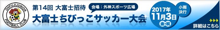大富士ちびっこサッカー大会